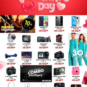 Valentine's Day en Shopping China Importados Pedro Juan Caballero