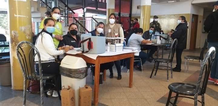 MIL PERSONAS FUE INMUNIZADA DESDE EL SABADO HASTA EL MIERCOLES EN SANTA ROSA.