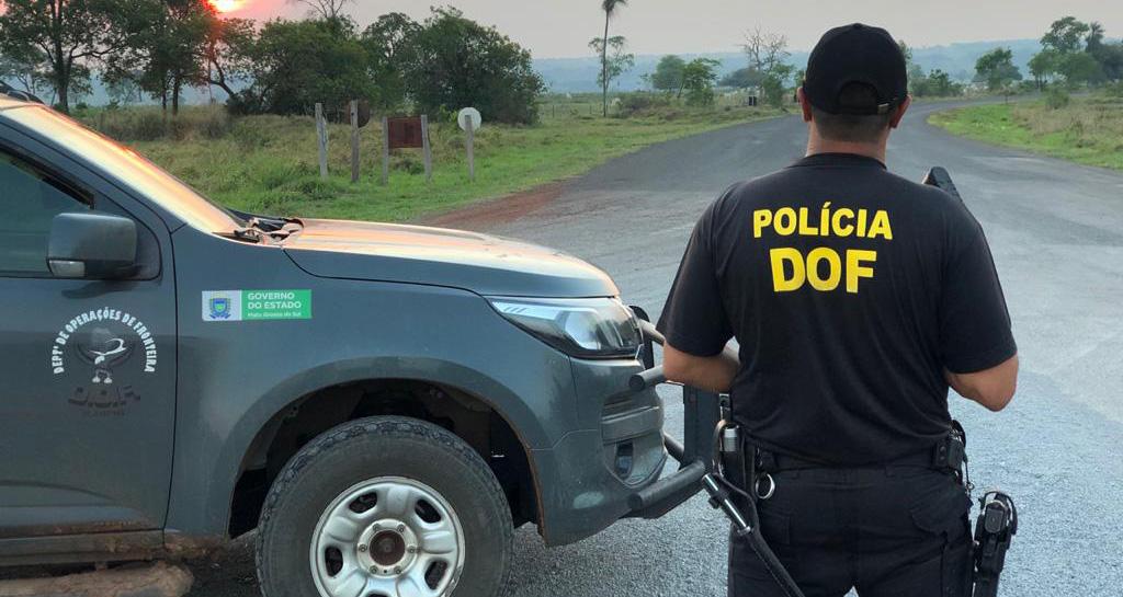 Traficantes morrem em confronto com policiais da DOF em Amambaí