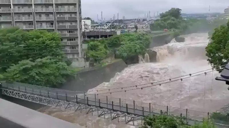 Duas pessoas morrem e ao menos 20 estão desaparecidas após forte chuva no Japão