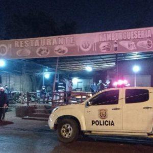 Discusión en una hamburguesería deriva en doble homicidio en Ciudad del Este