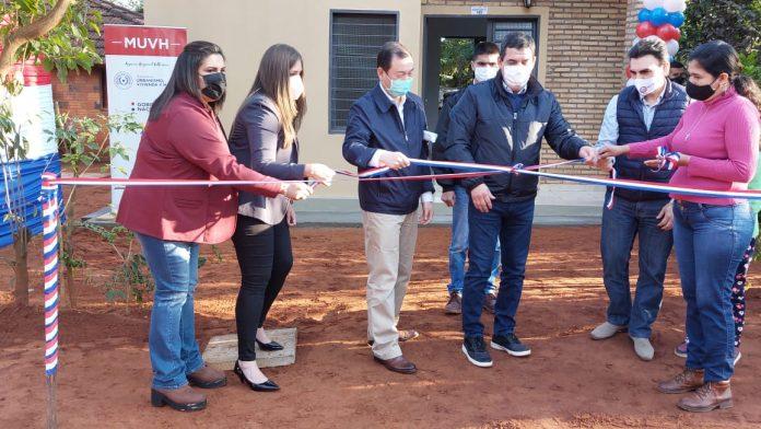 Gobierno entregó 140 viviendas sociales a familias de Guairá