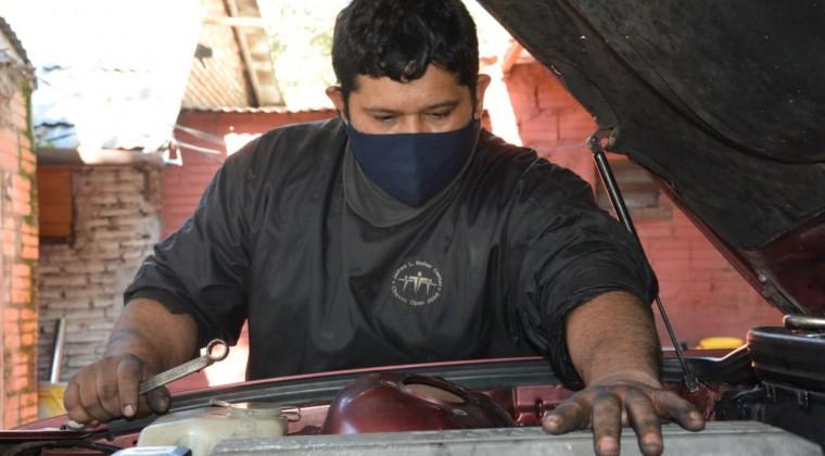 Una segunda oportunidad: Montó un taller mecánico tras las rejas