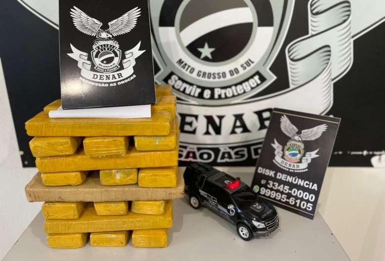 Em sexta ação de combate ao tráfico no mês, polícia prende foragido da justiça