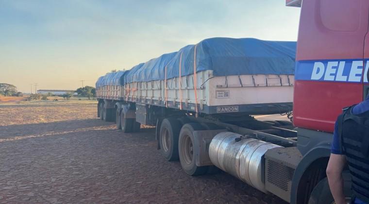 Incautan más de 40.000 kilos de cemento de contrabando en PJC