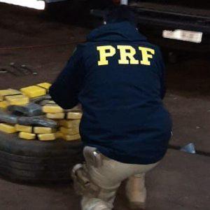 PRF apreende carga de cocaína avaliada em mais de R$ 5 milhões