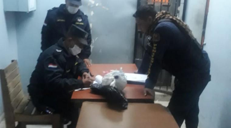 Hallan marihuana en el penal de Tacumbú