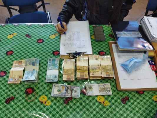 Brasileiro acusado de financiar esquema de tráfico na fronteira é preso com R$ 53 mil