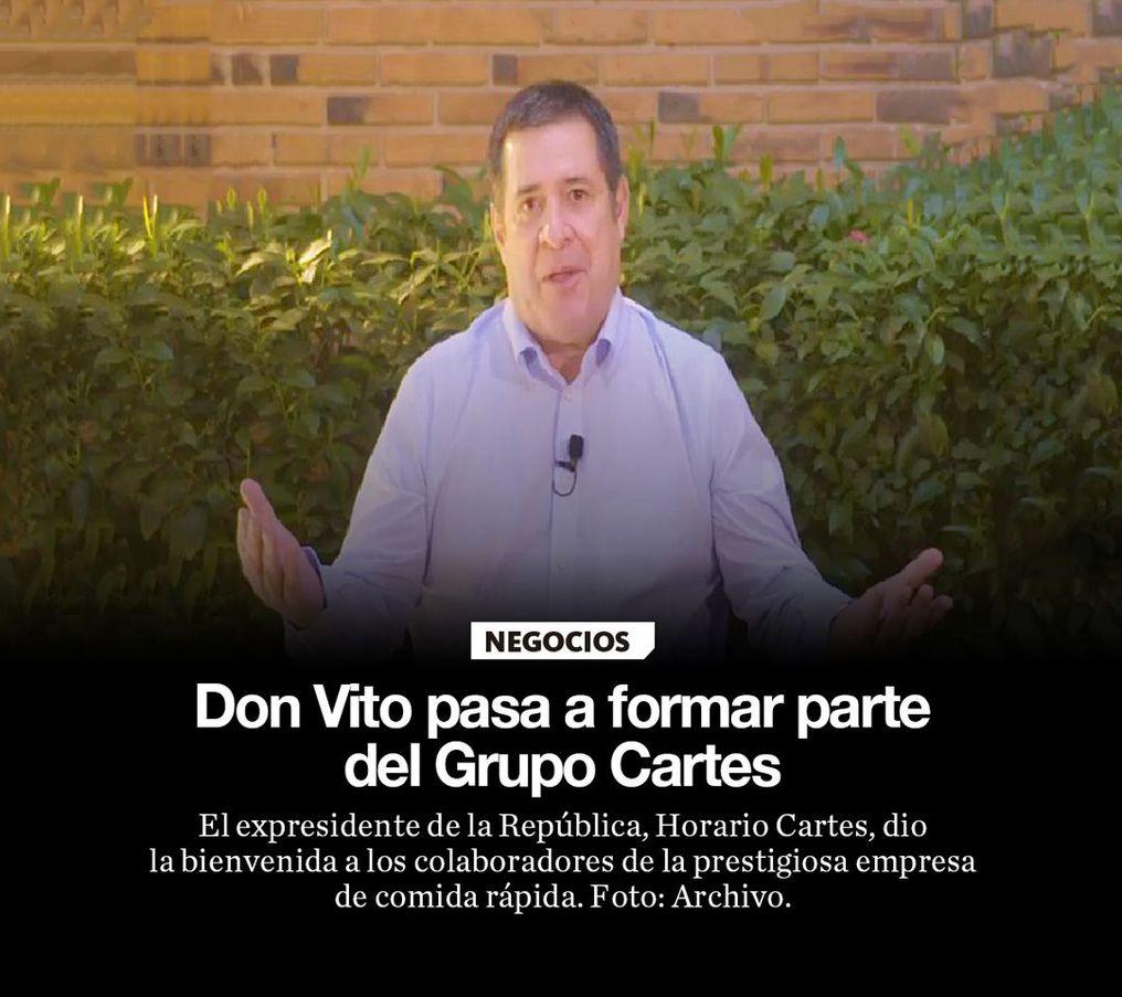 Don Vito pasa a formar parte del Grupo Cartes