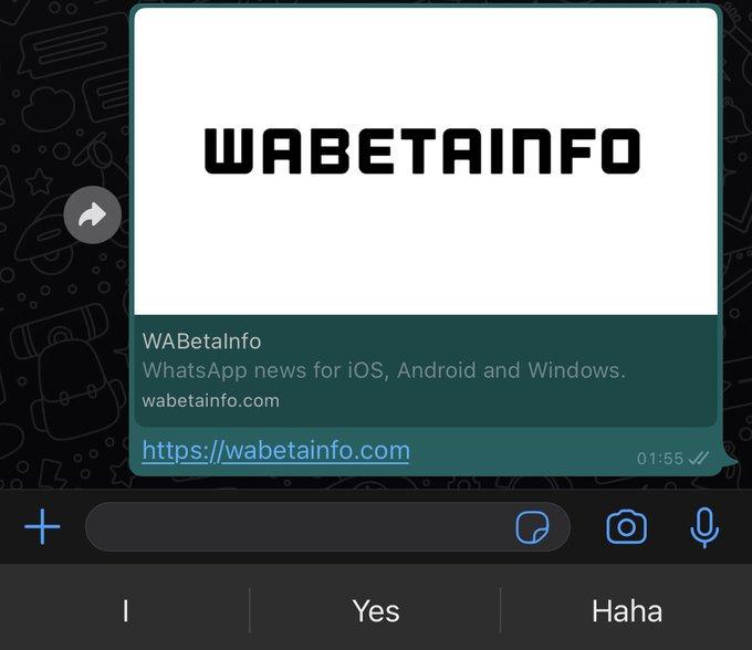 WhatsApp prueba una nueva función para evitar que los usuarios abran enlaces accidentalmente