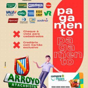 Vai vir economizar no Arroyo Atacadista?
