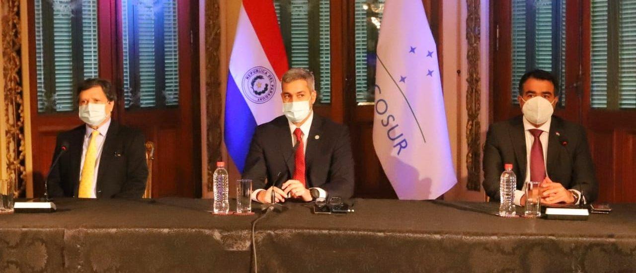 Paraguay insta a no retroceder en la integración y que el Mercosur sea la vía para la recuperación