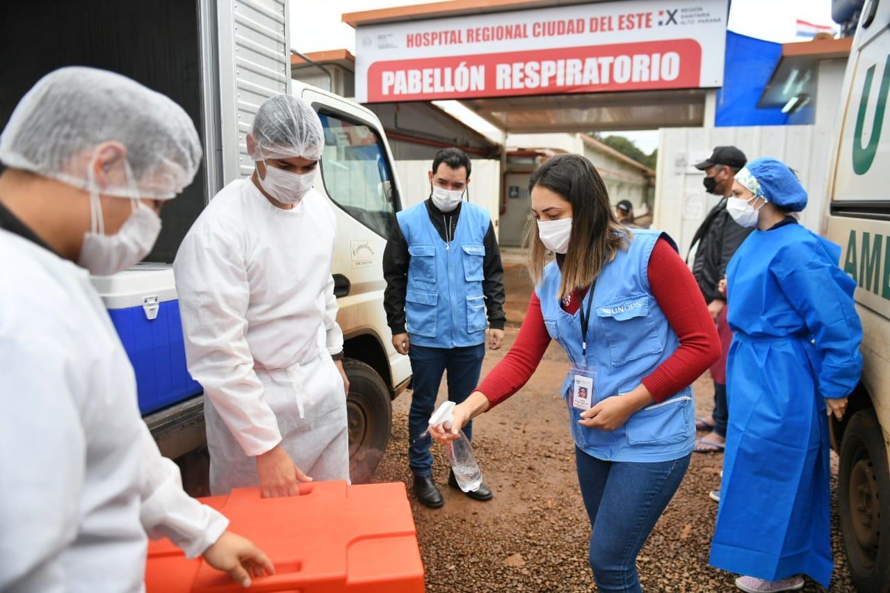 Itaipu entregó más de 30.000 raciones de alimentos para personal de blanco y pacientes con covid-19