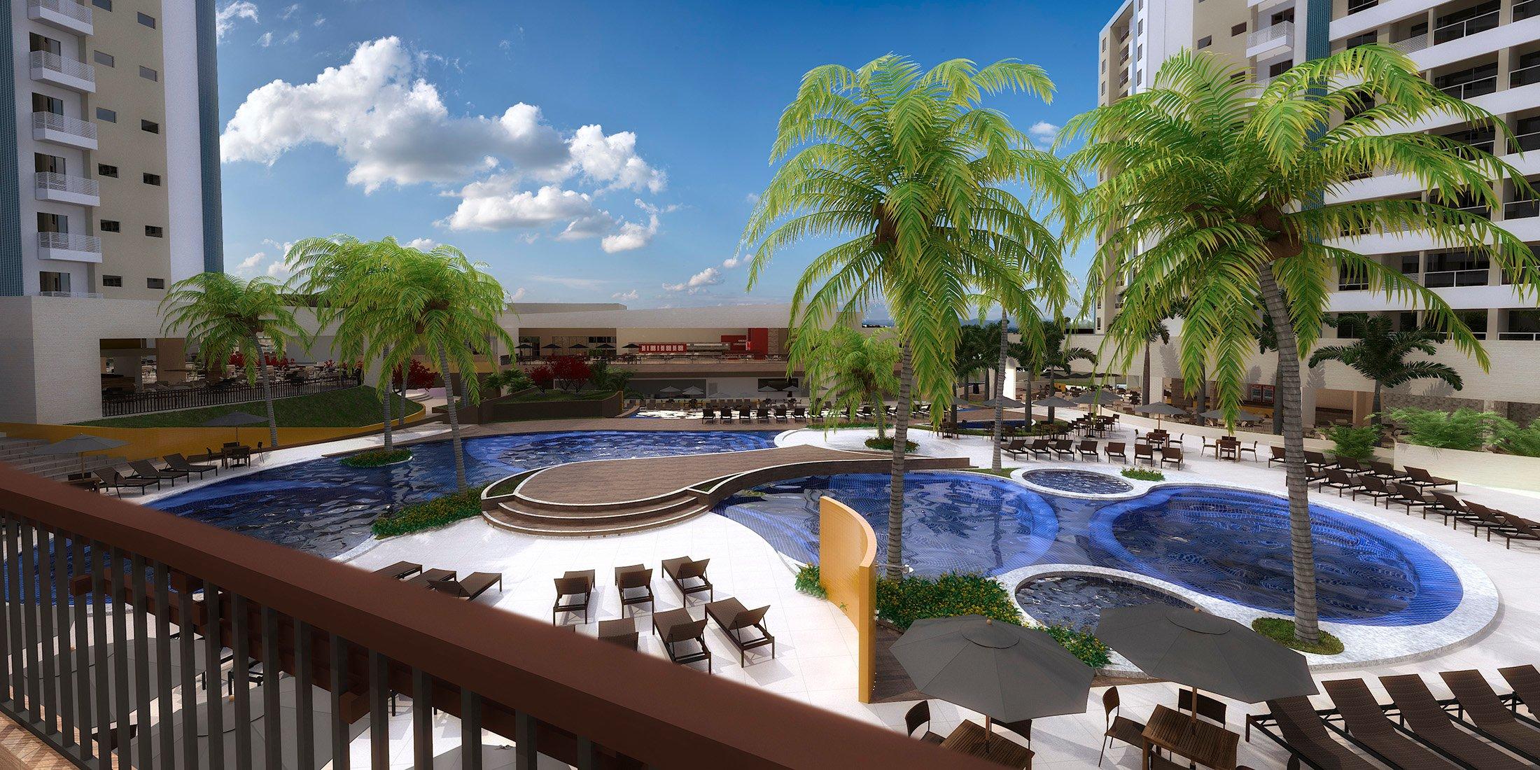 O maior Resort do Brasil, Enjoy Solar das Águas, receberá seus primeiros hóspedes
