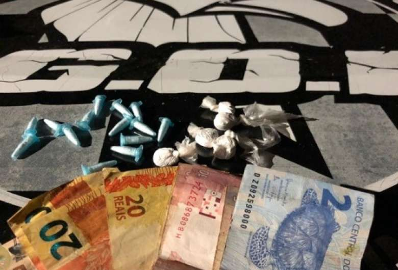 Suspeito de tráfico de drogas é preso em flagrante na capital