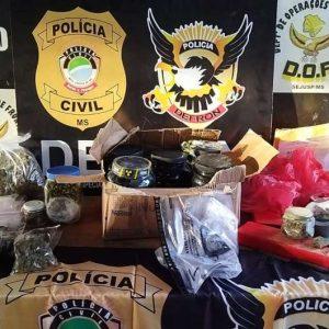 Em seis meses, quadrilha movimentou mais de R$ 4 milhões com tráfico de drogas