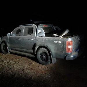 Bella Vista Norte: Drogas, armas y municiones tras decomiso de una camioneta por la FTC