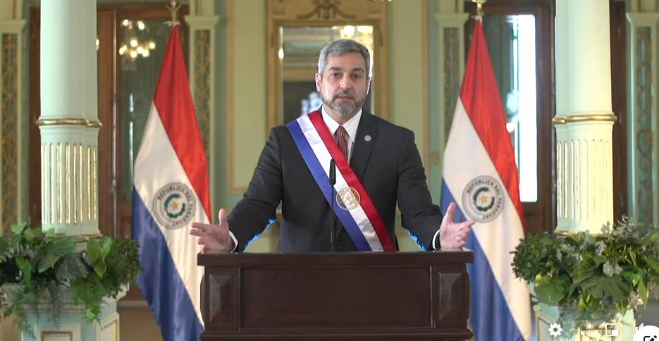 Cuando pase la pandemia Paraguay estará de pie, con una economía más fortalecida, asegura presidente