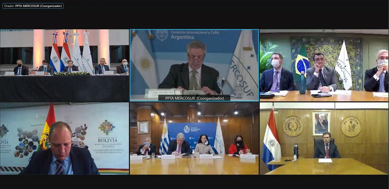 Ministros del Mercosur evaluaron desafíos de la integración y negociaciones externas
