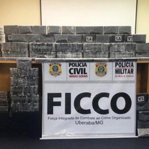 Avião de sul-mato-grossense é apreendido com 243 quilos de cocaína em aeroporto de SP