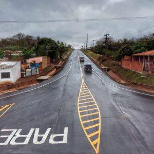 Inauguran conexión asfáltica de Arroyito con ruta PY 05