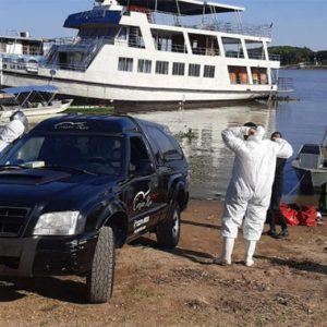 Bombeiros encontram corpo de adolescente que se afogou no Rio Paraguai