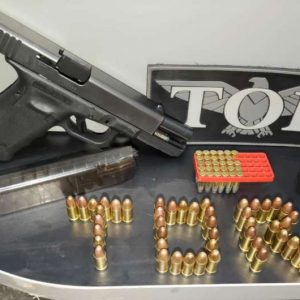 Homem é preso por porte ilegal de arma de fogo e munições na MS-386