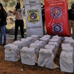 SENAD incinerará los más de 3.000 kilos de cocaína en predio de Chaco'i