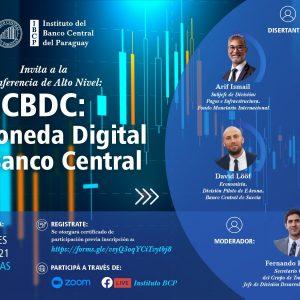 "BCP invita este miércoles a la conferencia ""CBDC: La Moneda Digital del Banco Central"""