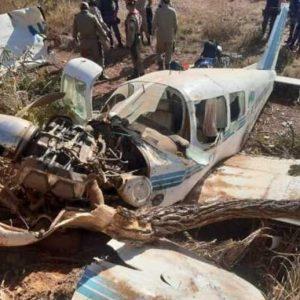 Quatro pessoas ficam feridas em queda de aeronave em MT