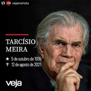 Tarcísio Meira morre aos 85 anos em SP