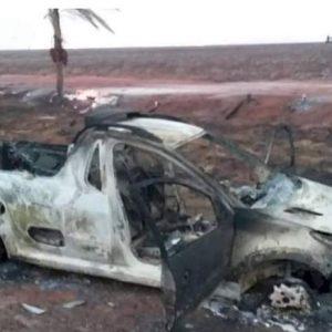ANGÉLICA: Condutor atravessa fogaréu e morre queimado em Ipezal