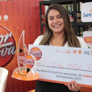Chef Iasmin Camargo de Ponta Porã vence o Sabor à Prova