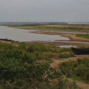 El río Paraguay está a 8 centímetros del punto 0