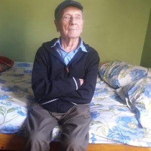 Hipólito Cardozo de Naranjito barrio María Auxiliadora cumple 105 años ex Combatiente de la Guerra del Chaco