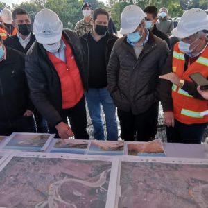 Presidente verificó obras de la defensa costera que tendrá un gran impacto en Pilar