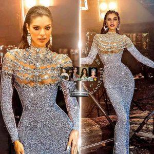 Ella es la nueva Miss Universo Paraguay, su nombre es NADIA FERREIRA.