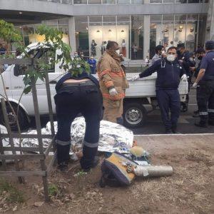 Motochorros asesinan a un policía durante un violento  asalto en pleno centro de Asunción