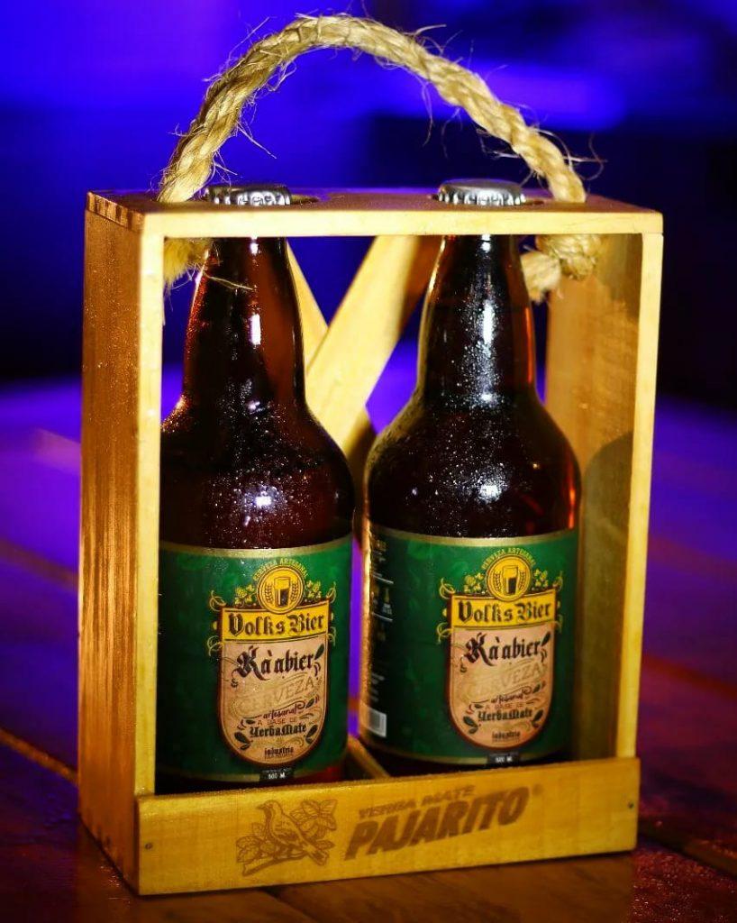 ¡BIEEEEERNES PORÃITE para unas cervecitas! ¿Te animás a probar la primera cerveza con Yerba Mate del país?
