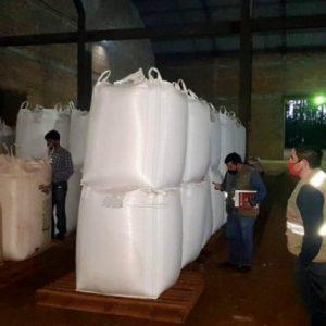 Retienen más de 500 toneladas de semillas de soja en Alto Paraná