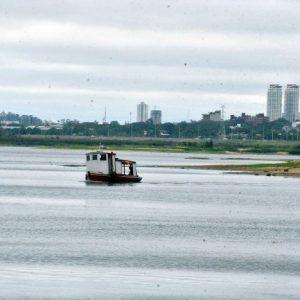 Río Paraguay sigue con su bajante extrema y ya está en -0,71 m