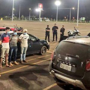 4 presos com 1.200 kg de droga na fronteira