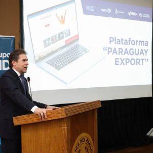 """Plataforma """"Paraguay Export"""" fue presentada por el MIC y el BID"""