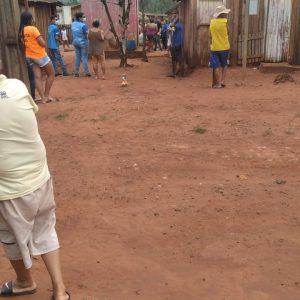 Coronel Sapucaia.MS.Con 15 tiros matan a poblador de Coronel Sapucaia