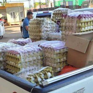 """Contrabando asesta duro golpe a productores de huevo: """"Esta temporada nos está matando"""""""