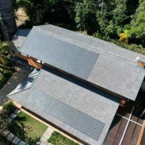 Brasil desenvolve 1ª telha de concreto que capta energia solar