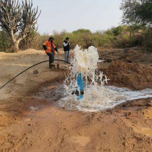 Obras de rehabilitación de la Transchaco incluyen sistema de pozos artesianos para acceso al agua