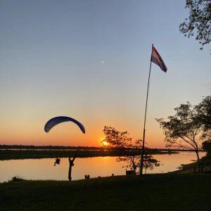 El río Paraguay recibe a visitantes en 'La Casa de Santi'