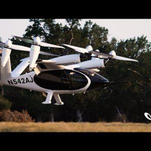 VIDEO: La NASA pone a prueba por primera vez un prototipo de taxi volador eléctrico
