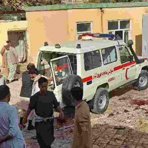 Explosão em mesquita deixa 100 mortos no Afeganistão